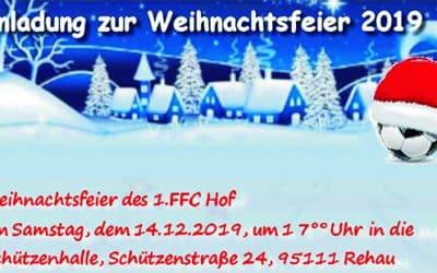 FFC-Vereinsweihnachtsfeier
